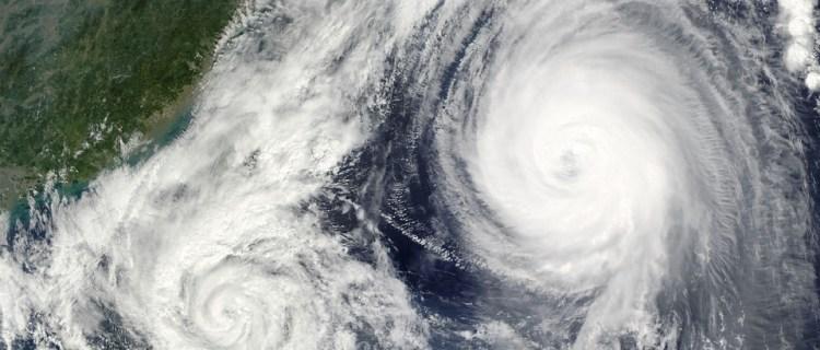 ¿Será posible que dos huracanes choquen en América?