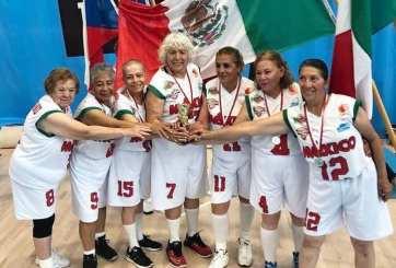 FOTOS: Abuelitas mexicanas ganan campeonato mundial de basquetbol