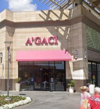 A'GACI cerrará todas sus tiendas y su mercancía ya está en súper rebaja