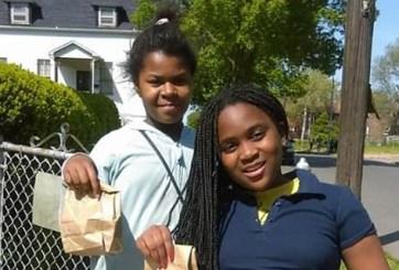 VIDEO: Madre de 6 regala almuerzo diario a los niños de su vecindario