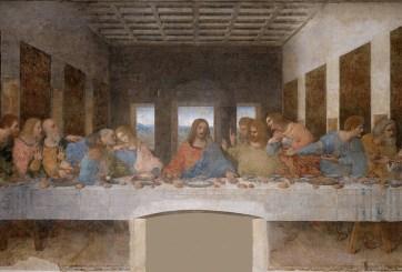 Mujer encontró increíble pintura medieval de Jesucristo en su casa
