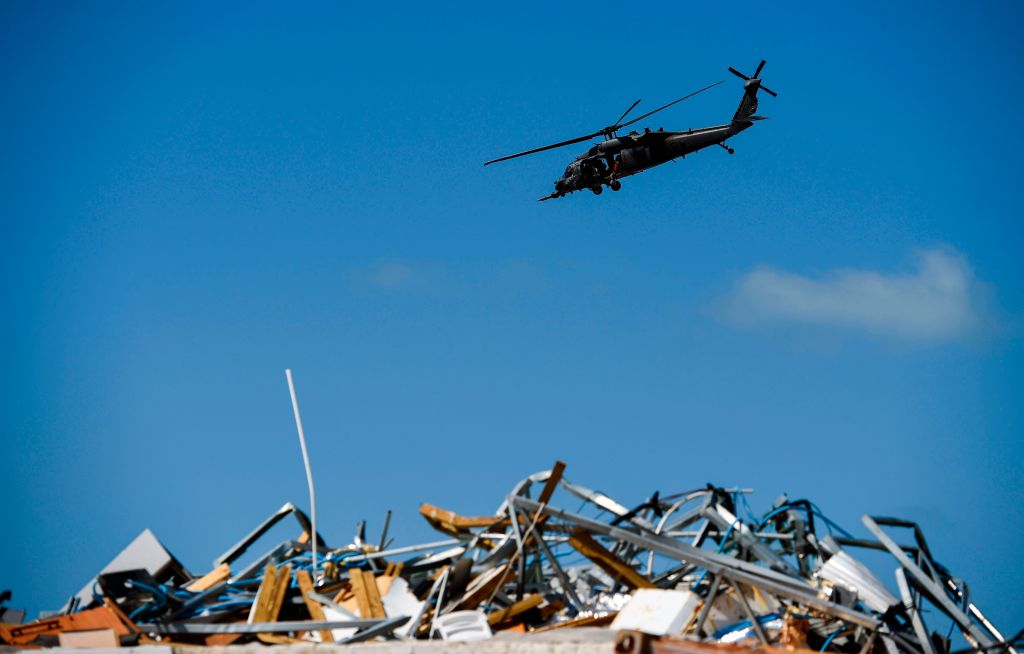 helicóptero bahamas