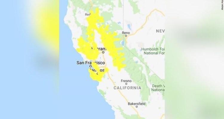 800 mil personas en California podrían quedarse sin energía eléctrica