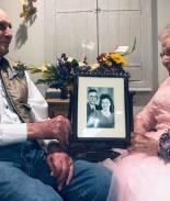 VIRAL: Ancianitos celebran conmovidos 72 años de casados