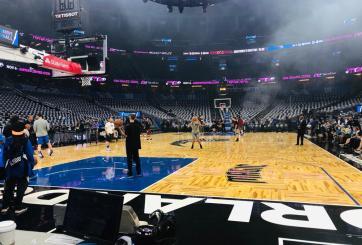 La ciudad se viste de azul; Inicia la acción de NBA para Orlando Magic