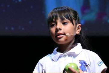 Adhara Pérez: la pequeña con coeficiente intelectual mayor a Einstein
