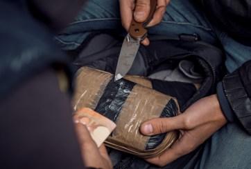 Arrestan a hombre por contrabandear heroína en intestinos de cabra