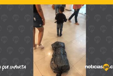 FOTOS: Disfrazan a niño de sicario para Halloween en México