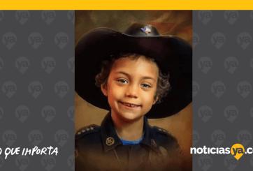 VIDEO: Falleció pequeña con cáncer tras cumplir sueño de ser policía