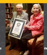 Ancianos de Texas se convierten en la pareja viva más vieja del mundo