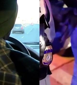 VIDEO: Operativo de ICE muestra cómo capturan indocumentados