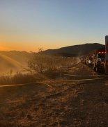 Condición Santa Ana mantiene el riesgo de incendio en San Diego