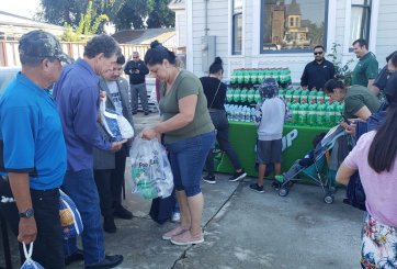 Regalan 600 pavos en National City para día de acción de gracias