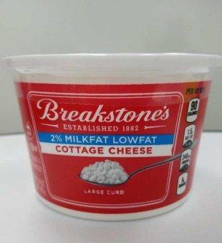 Retiran cerca de 10 mil cajas de queso cottage Breakstone's contaminado