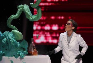 La nueva Miss América hizo experimento científico en prueba de talento
