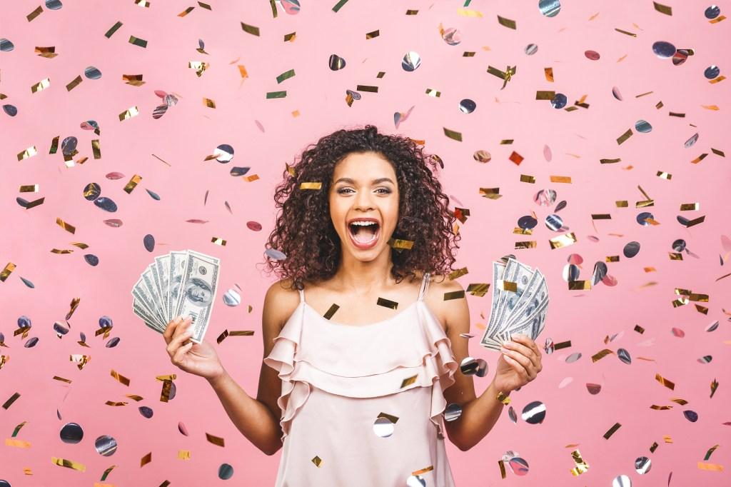 mujer se gana la lotería