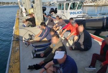 Arrestan 21 personas al ingresar ilegalmente en lancha a San Diego