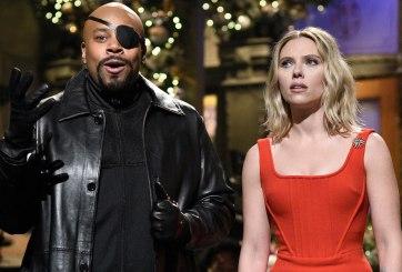 Scarlett Johansson salva a elenco de 'SNL' de Thanos durante monólogo