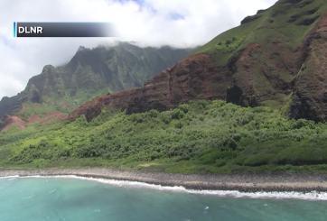 Buscan sobrevivientes de choque de helicóptero con 7 turistas en Hawái