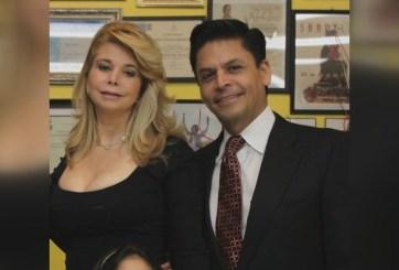 Jorge Zamora Quezada y su esposa, Meisy Zamora. Imagen: Sin Fronteras.