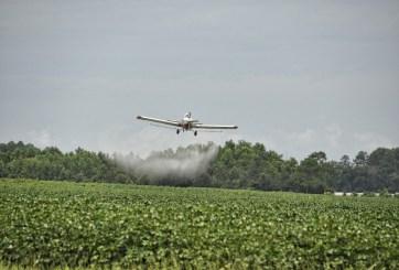 Iglesia de Louisiana roció 100 galones de agua bendita desde un avión