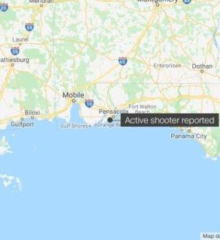 Tres muertos y varios heridos deja tiroteo en Estación Aérea Naval de FL