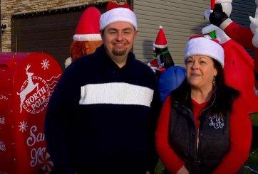 Pareja puso un buzón de cartas a Santa para pequeños del vecindario