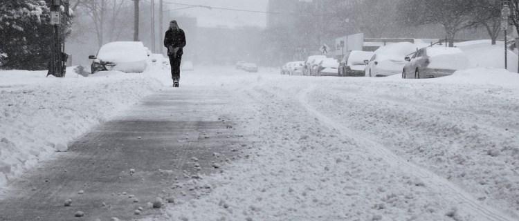 Como se vieron impactados los comercios durante la tormenta invernal