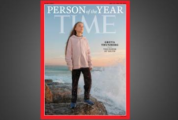 TIME nombra a Greta Thunberg como persona del año