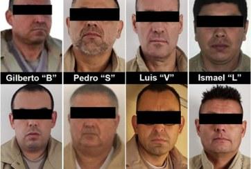 VIDEO: México entrega a 8 narcotraficantes a gobierno de EE.UU.