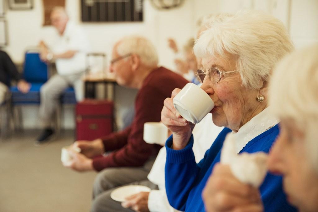 comunidad de ancianos