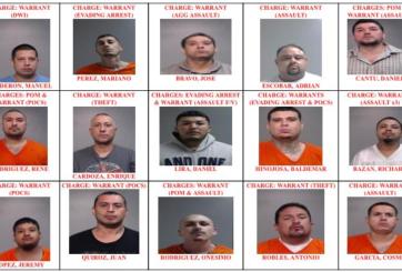 Redada conduce al arresto de 15 miembros de pandillas en el Valle