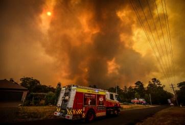 Humo de incendios de Australia llegó a Chile y Argentina