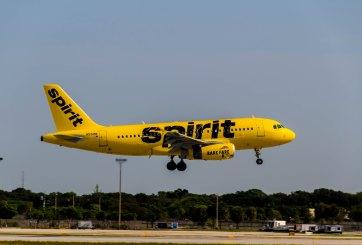 avión de aerolínea spirit