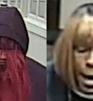 FBI busca a sospechoso que roba bancos usando ridículas pelucas en NC