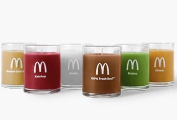 McDonald's lanzará velas que huelen a ingredientes de hamburguesa