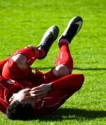 futbolista lloriqueando