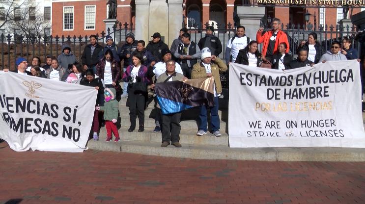 inicia huelga de hambre en boston por licencias de conducir para indocumentados