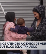 Pareja de médicos cubanos atienden a migrantes en Matamoros