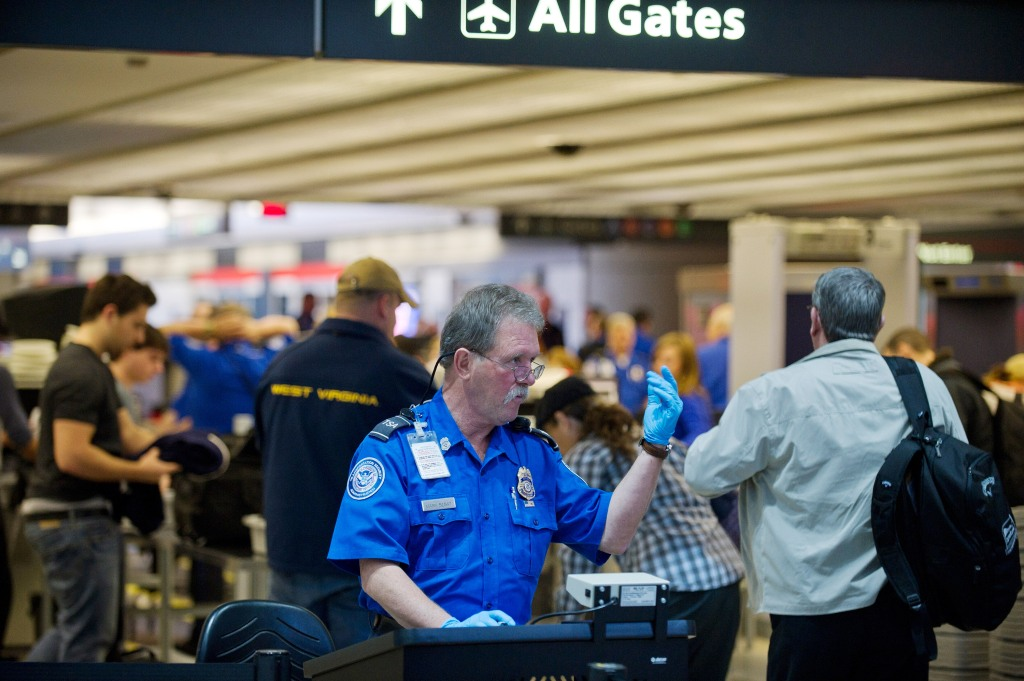 TSA aeropuerto