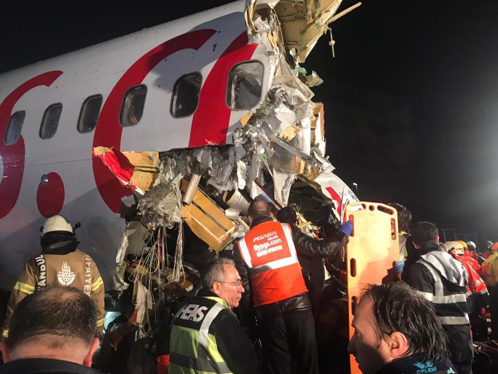 accidente aéreo turquía