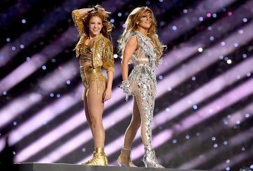 JLo y Shakira hicieron historia al ritmo latino en el Super Bowl