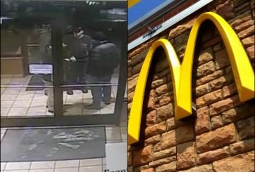 arresto en mcdonald's