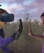 Se reunió con su hija fallecida por realidad virtual en show televisivo