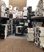 Residente de San Luis acusado de robar miles de electronicos de Bose