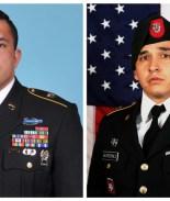 Rinden honores a soldados hispanos asesinados en Afganistán