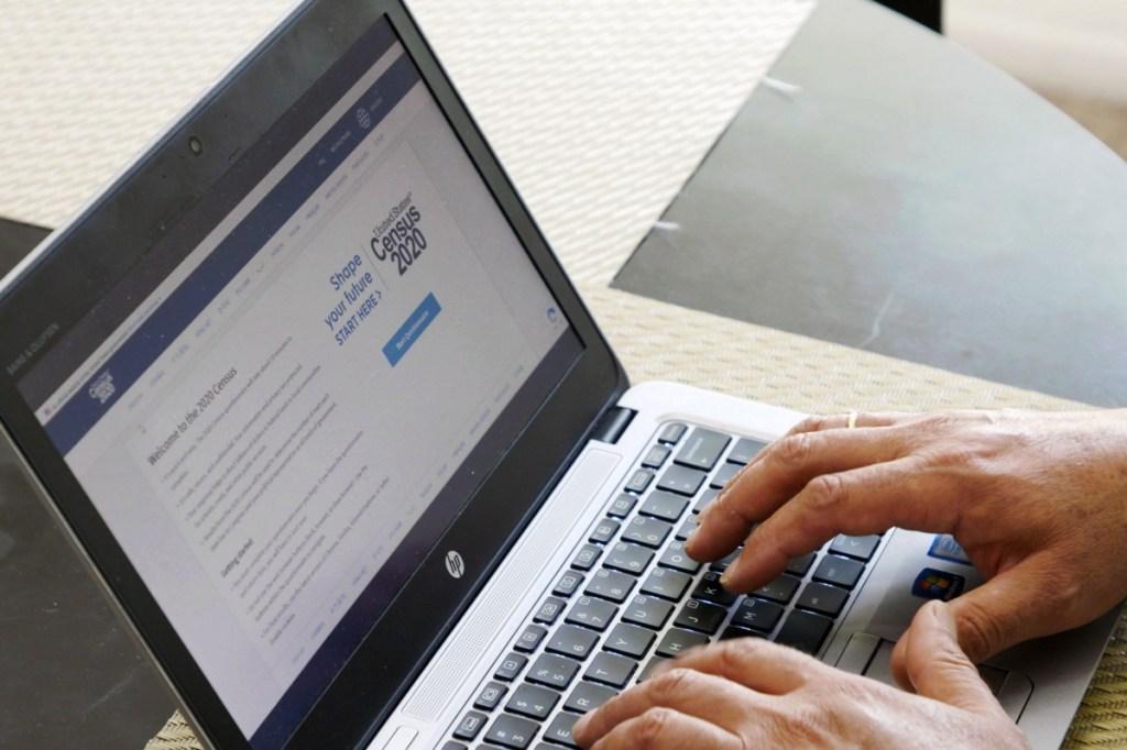 Census 2020 online.