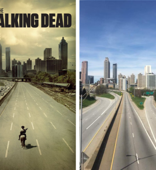 Coronavirus dejó a Atlanta luciendo como póster de The Walking Dead