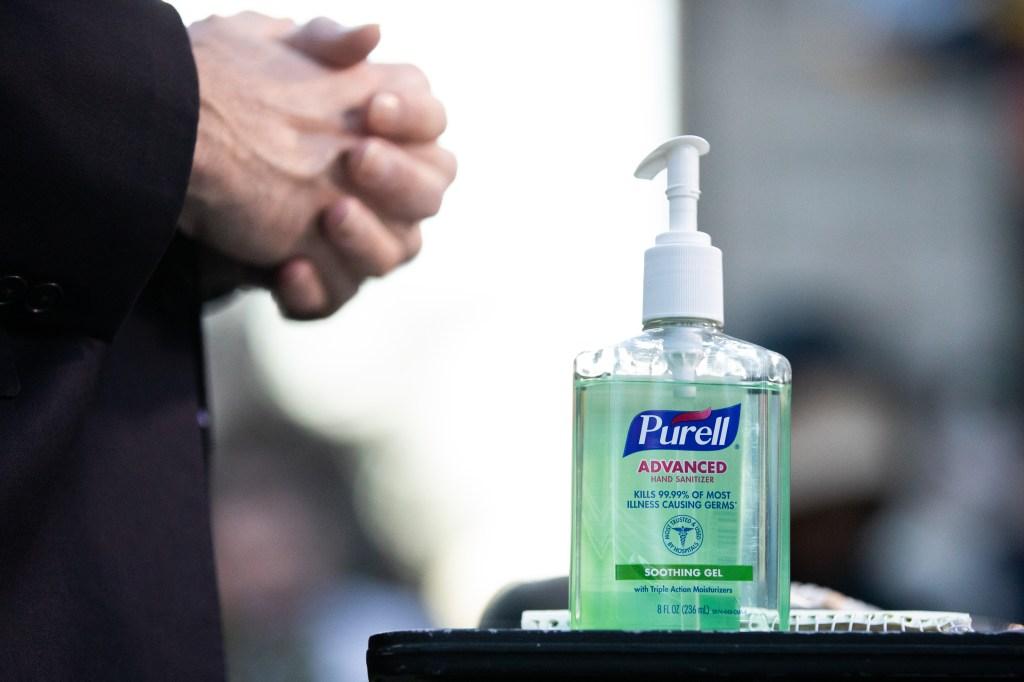 desinfectante antibacterial