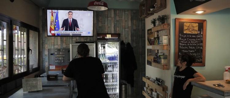 España decreta estado de alarma por coronavirus